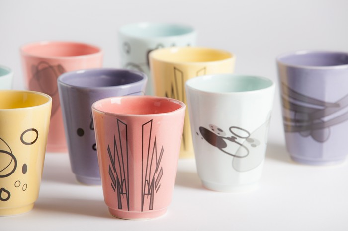 New range of cups by Cyan Clayworks Photo A Clark