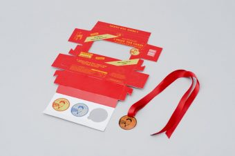 Tunnock's Medals by Claire Duffy with Tunnock's and Chesapeake Packaging