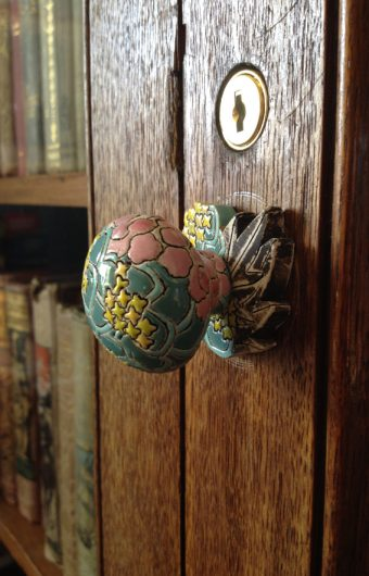 Patterns of Flora|Coast, Library doorknob Photo: Artists Own