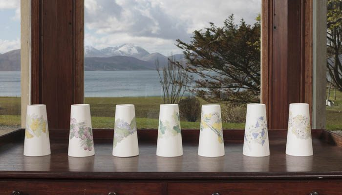 Atlas Editions: Patterns of Flora|Parian Vases by Frances Priest Photo: Ruth Clark