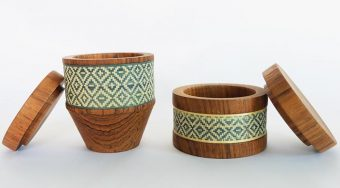 Indigo containers by PATAPiAN